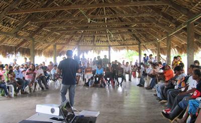 Resguardo Indígena Panure, Colombia, 2012