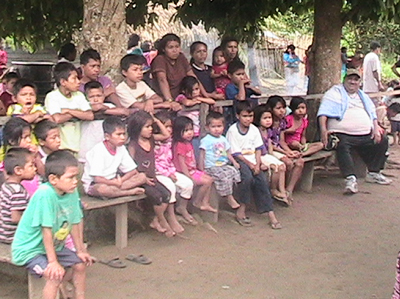 Comunidad Nativa de Nueva Palestina, Perú, 2012