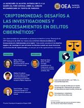 """Foro Virtual: """"Criptomonedas: Desafíos a las Investigaciones y Procesamientos en Delitos Cibernéticos"""""""