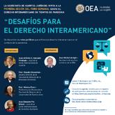 Foro Virtual: Desafíos para el derecho interamericano