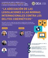 """Foro Virtual: """"La adecuación de las legislaciones a las normas internacionales contra los delitos cibernéticos"""""""