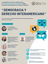 """Foro Virtual: """"Democracia y Derecho Interamericano"""""""