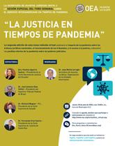 """Foro Virtual: """"La Justicia en tiempos de pandemia"""""""
