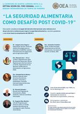"""Foro Virtual: """"La seguridad alimentaria como desafío post COVID-19"""""""