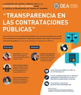 """Foro Virtual: """"La transparencia en las contrataciones públicas"""""""