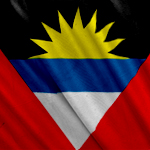 Bandera Antigua and Barbuda