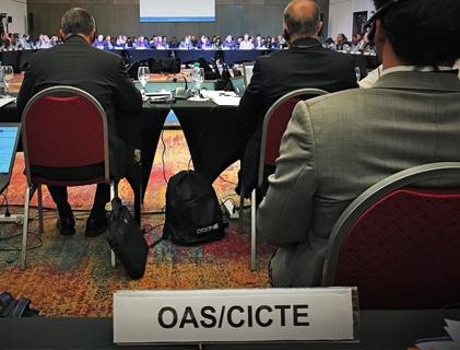 CICTE: Comité Interamericano contra el Terrorismo