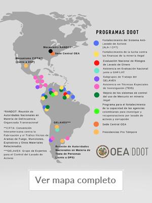 mapa PROGRAMAS DDOT