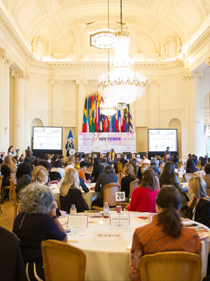 "Global Summit: ""Her Power: Women's Voices, Global Impact"""