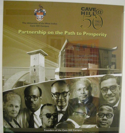 On the occasion of its 50th annivesary,The University of the West Indies Cave Hill Campus, recognises the Organization of American States.