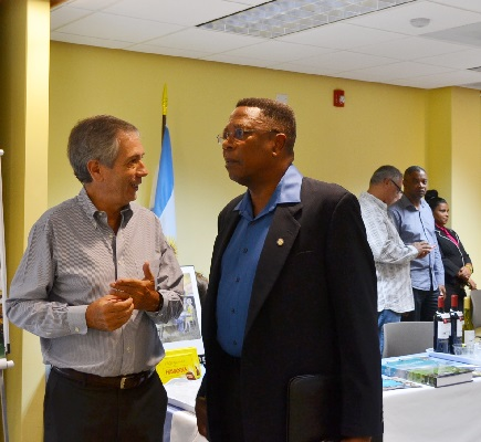 Pan American Day Exhibition, IADB Barbados Office, April 16 2015.