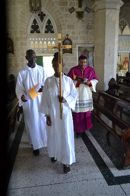 Pan American Day Church Service, Barbados Roman Catholic Church April 13, 2015