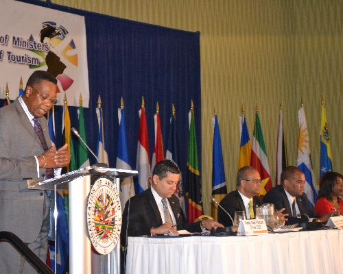 XX11 Inter-American Congress of Ministers and High-Level Authorities of Tourism , Hilton Barbados September 3-4 2014.
