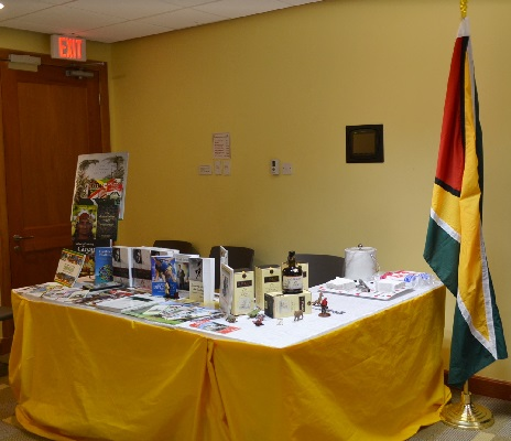 Pan American Day Exhibition Booths Display, IADB Barbados Office, April 16 2015.