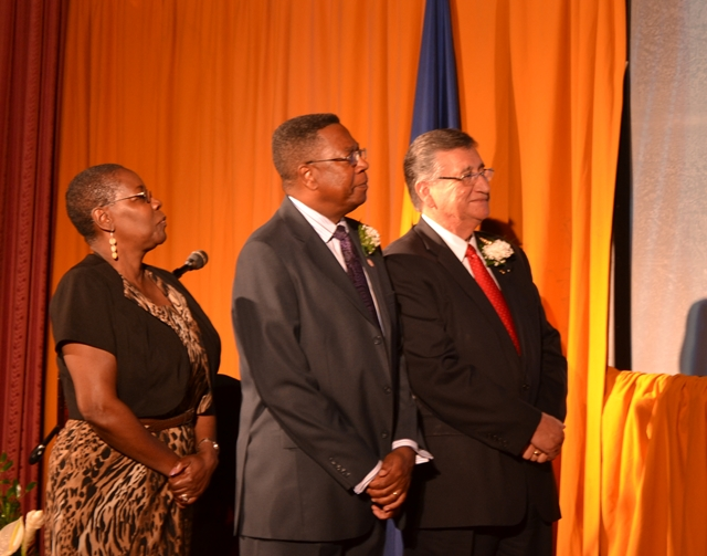 Barbados Small Business Development Center Network Launch at the Grande Salle, Central Bank of Barbados, April 10, 2015