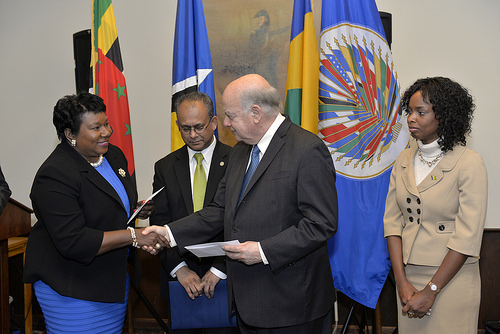 OAS Makes Contribution to Eastern Caribbean States following Christmas Storm