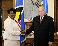 New Representative of Saint Lucia to the OAS Presents Credentials
