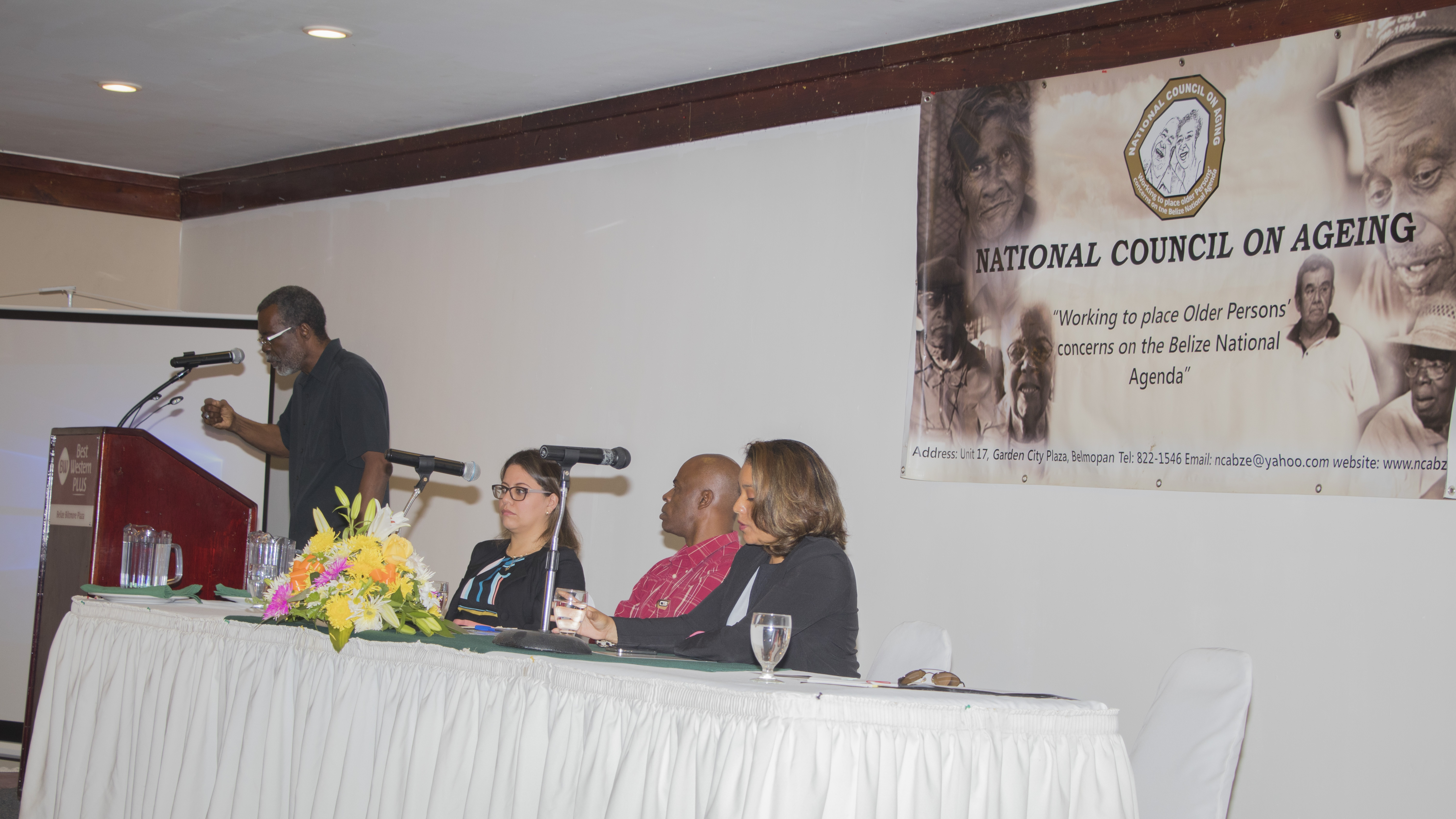 OAS Representative gave Keynote Address at First National Conference on Ageing and the Rights of Older Persons