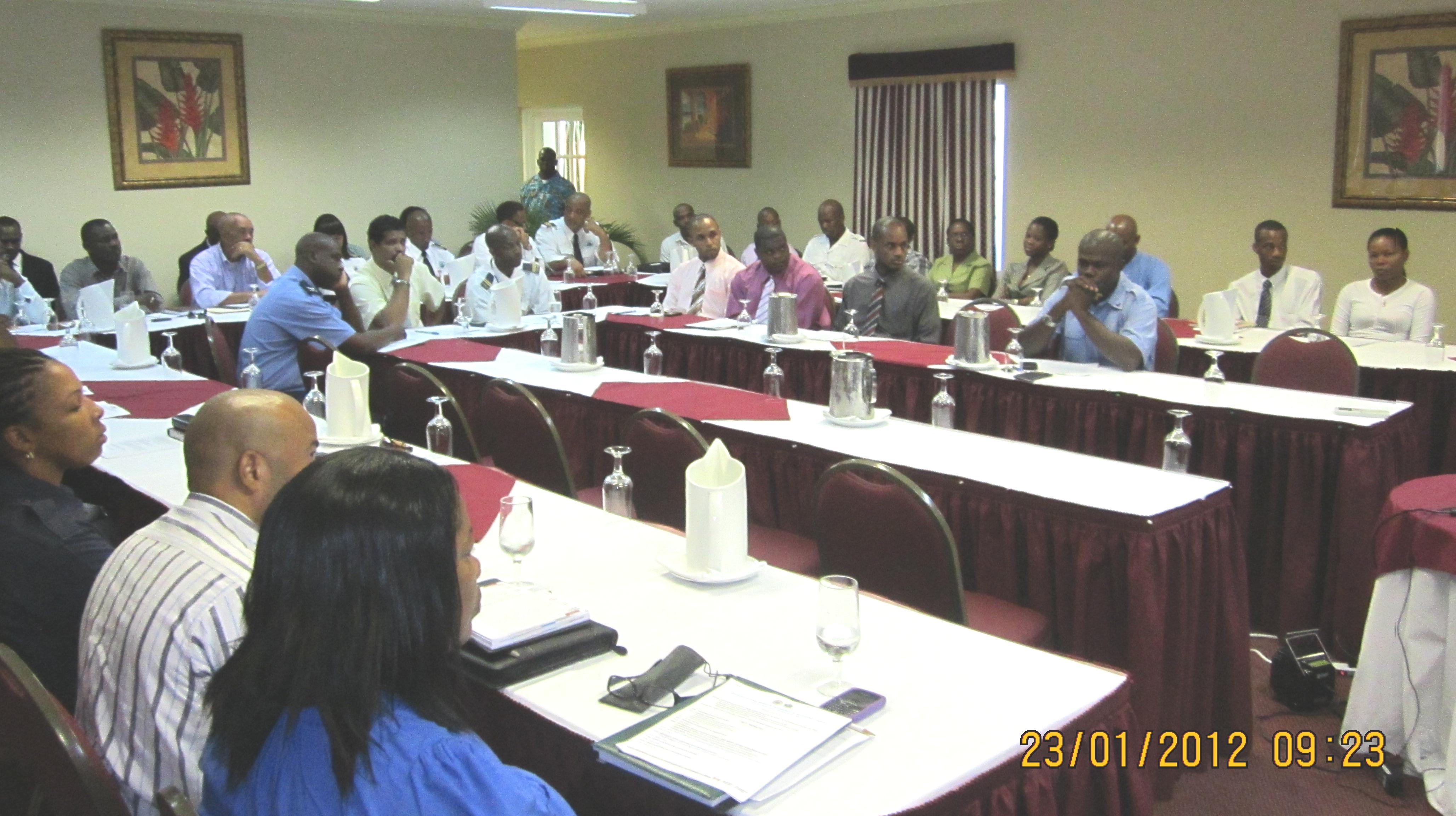 Specialized National Workshop on Immigration and Customs Controls