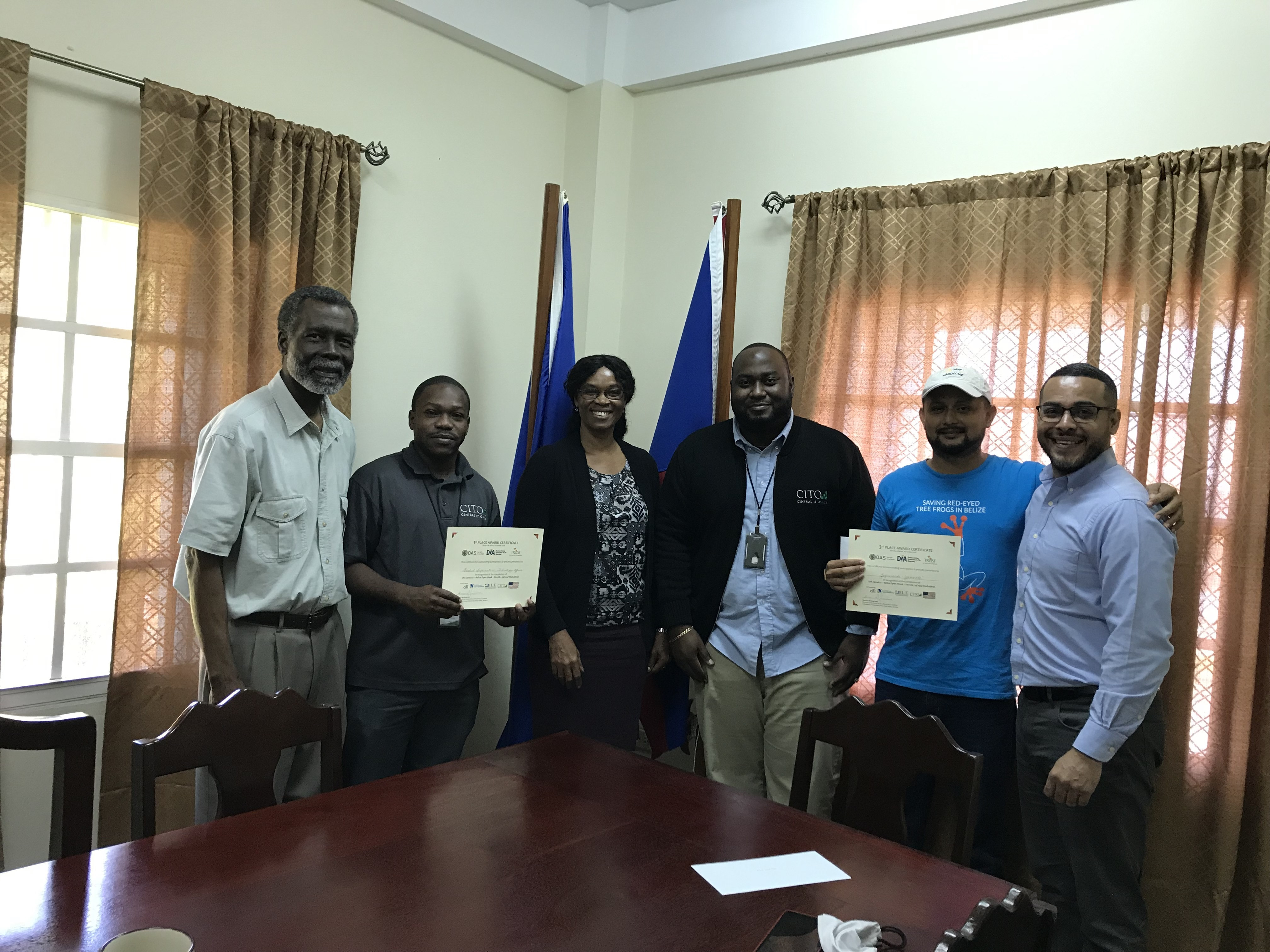OAS Belize Office assisted in Organizing Belize Open Week (Oct 30 to November 2, 2018)