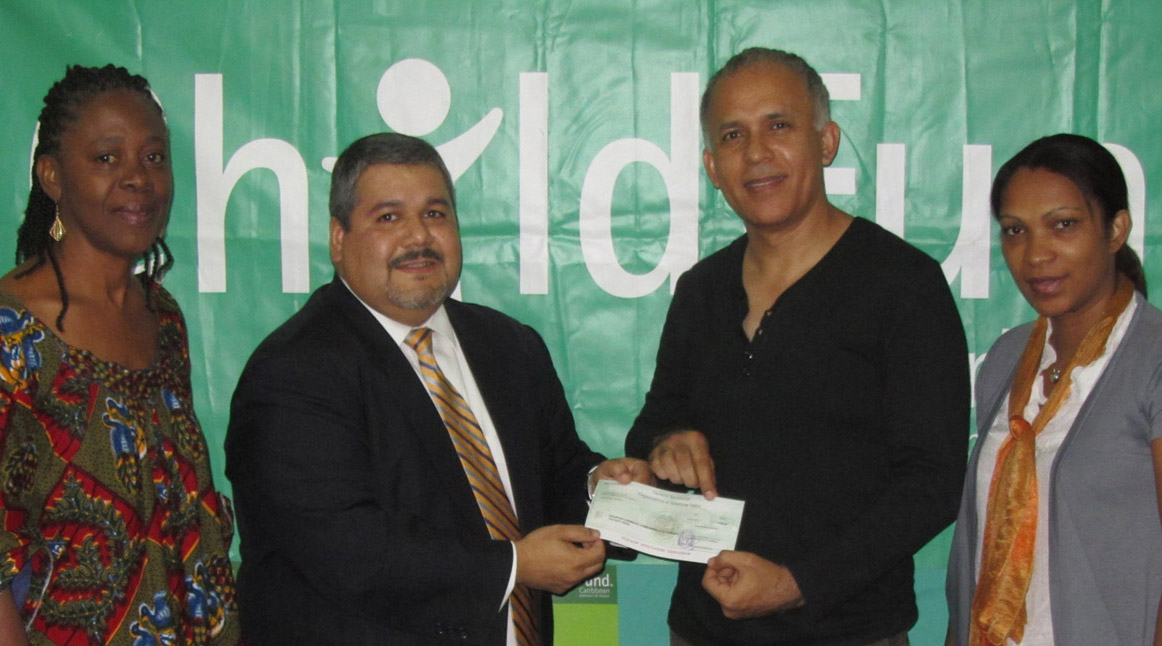 OAS delivers OWA donation to ChildFund Caribbean