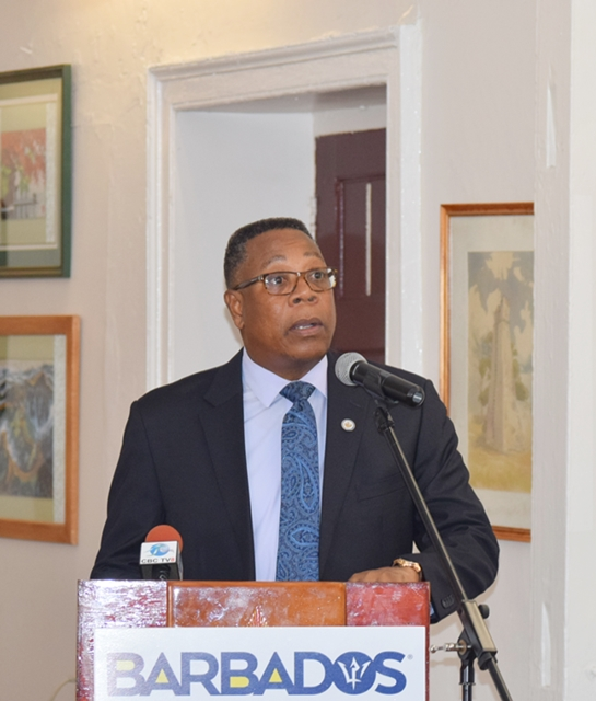 Remarks by,  OAS Representative in Barbados Mr. Francis McBarnette, Ms. Marie Legault, Canada High Commissioner to Barbados and Hon. Richard Sealy, Minister of Tourism and International Transport at the OAS CICTE Tourism Security Workshop at the Barbados Defence Force (BDF) headquarters June 26 2017.