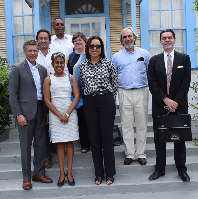 OAS  Technical team led by Ms. Kim Osborne, Executive Secretary for Integral Development and Luis Porto, Senior Advisor Strategic Counsel for Organizational Development and Management for Results, visited  Barbados for discussions with the Government and stakeholders on a pilot project to foster competitiveness.