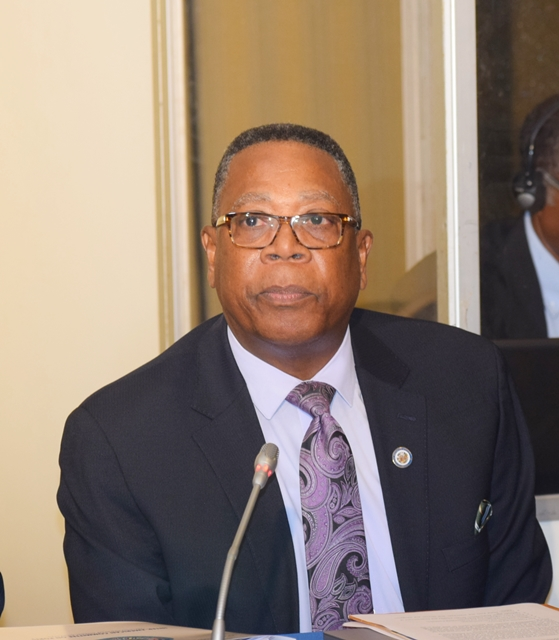 Remarks by Mr. Francis McBarnette, OAS Barbados Representative and Ms. Fernella Cordle, Assistant Manager, Security Services Barbados Port Inc, at the OAS Inter-American Committee on Ports (CIP) at the Hilton Barbados August 31 2017,