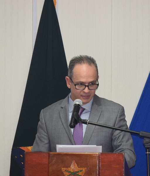 Remarks by Dr. Rafael Parada, Chief, Supply Reducation Unit (CICAD/OAS), Canada Deputy High Commissioner to Barbados,  Agnes Pust and Hon. Edmund Hinkson, Minister of Home Affairs at the opening of the Barbados National workshop on gender equality in counter-drug enforcement agencies GENLEA/OAS CICAD, at the Barbados Defence Force, St. Ann's Fort the Garrison