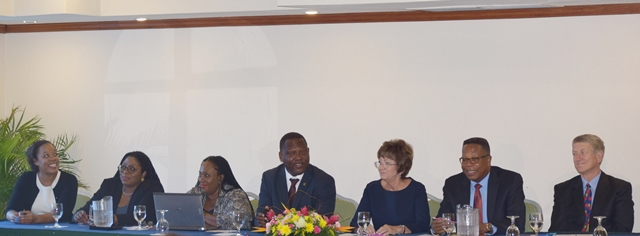 Media Launch of the Small Business Development Network: Global Value Chain Industrial Policies Enhancing SMEs Competitiveness in the Caribbean at the Accra Beach Hotel Barbados, March 13, 2017
