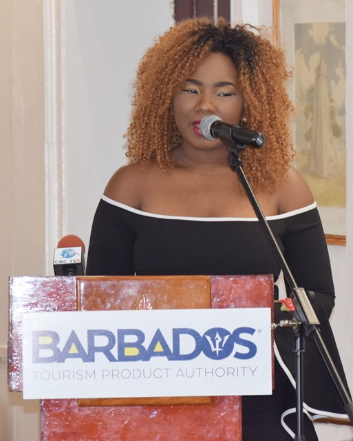 Special music at the opening of the OAS CICTE Tourism Security Workshop at the Barbados Defence Force (BDF) headquarters June 26 2017.	