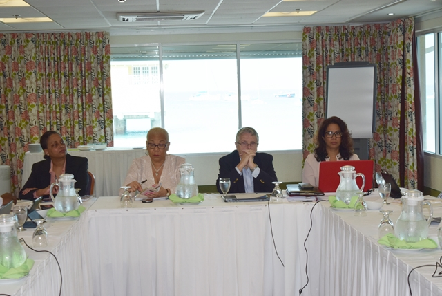 Cultural Heritage workshop,The defining of a Regional Standard for Evaluating and Improving Protective Heritage legislation and Related Financial Incentive Policies and Laws, to provide an instrument to improve legislation for heritage protection in all countries, at the Radisson Resort in Barbados, Jan 30 - Feb 1 2017