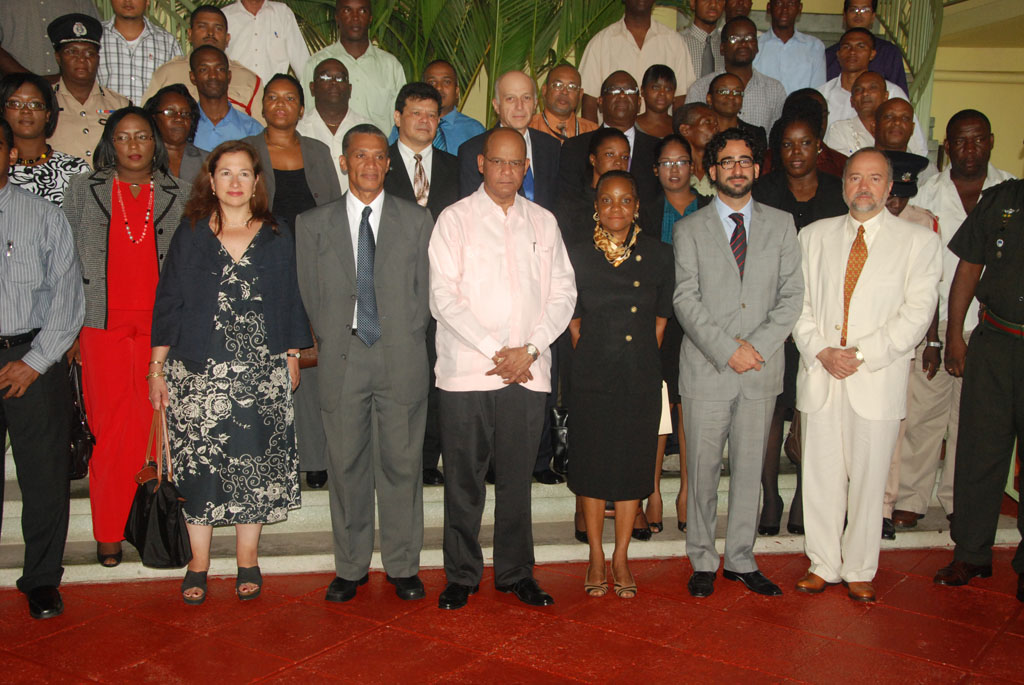 Specialized workshop on the prevention and fight against terrorism and its financing, 26 to 29 June, 2012 in Guyana.