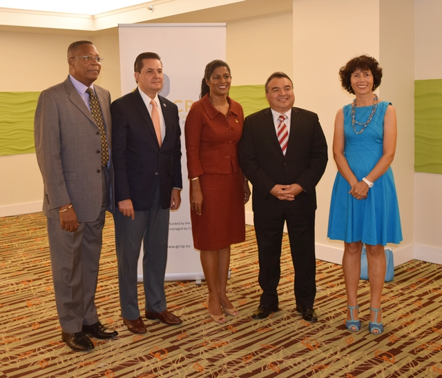 OAS EU GIZ Conference on Political Analysis,Crisis Management and Disaster Relief at the Radisson Resort Barbados Sept 12 - 16, 2016