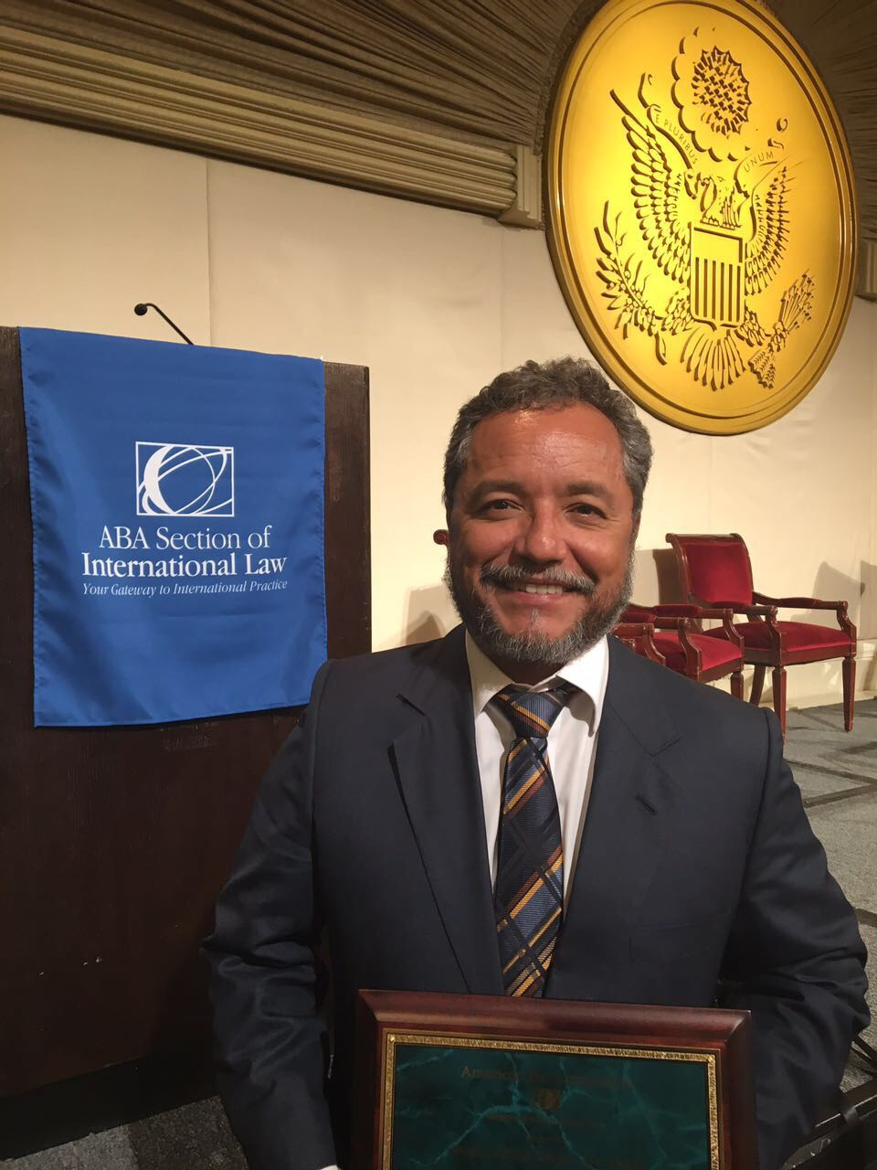 """World Order Under Law Award"" - Embajador Ronalth Ochaeta