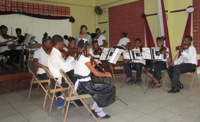 OAS Youth Orchestra Program in Saint Lucia