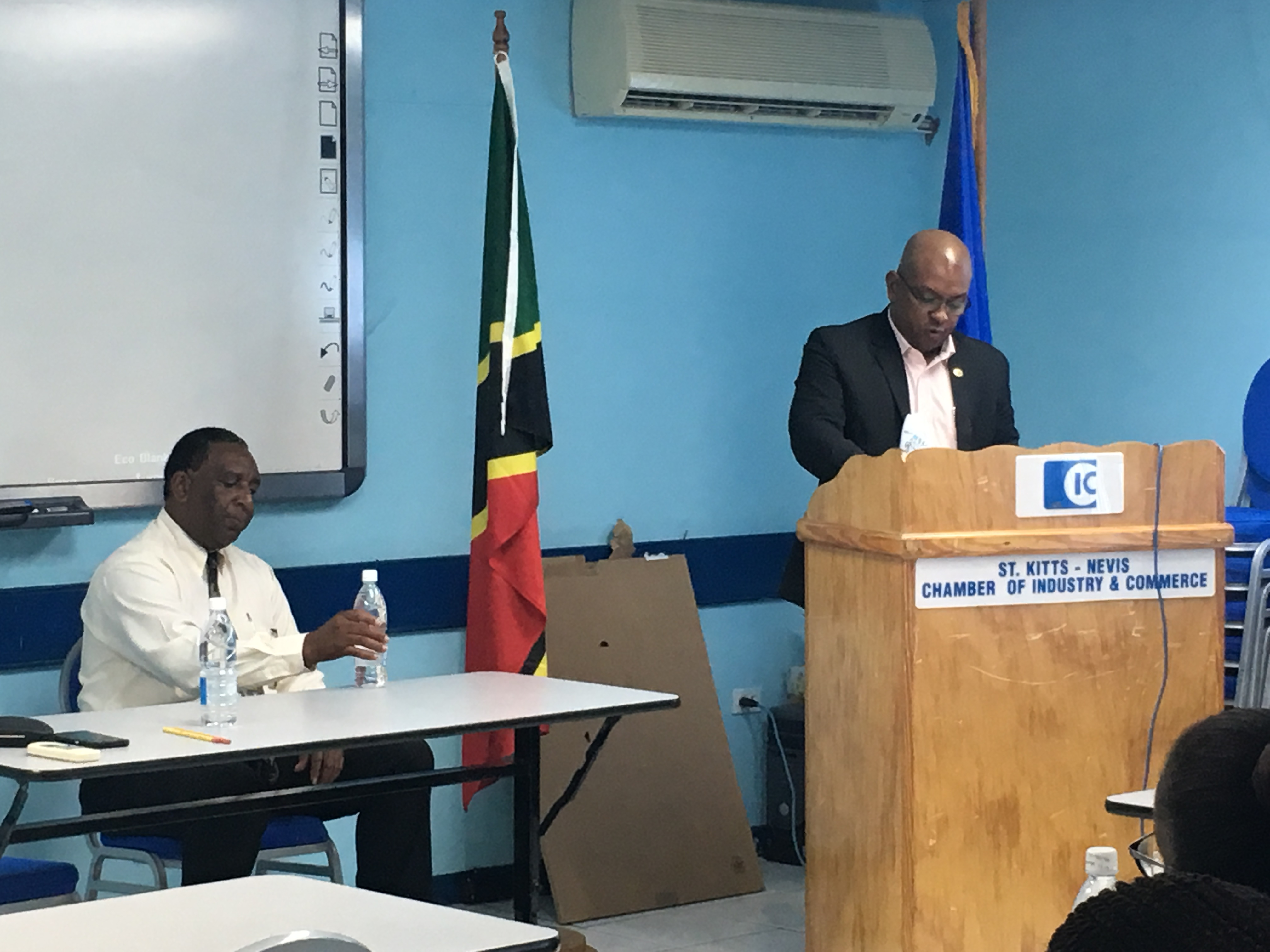 The Organizaion of American States in St Kitts and Nevis in Partnership with the Ministry of Tourism, International Trade, Industry and Commerce, in the Month of March, 2017, hosted a Three-day Certificate Training for Future Small Business Center (SBDC), with the Aim of Establishing SBDC in St Kitts and Nevis that would Facilitate Entrepreneurs in the Small-Medium Size Sector.