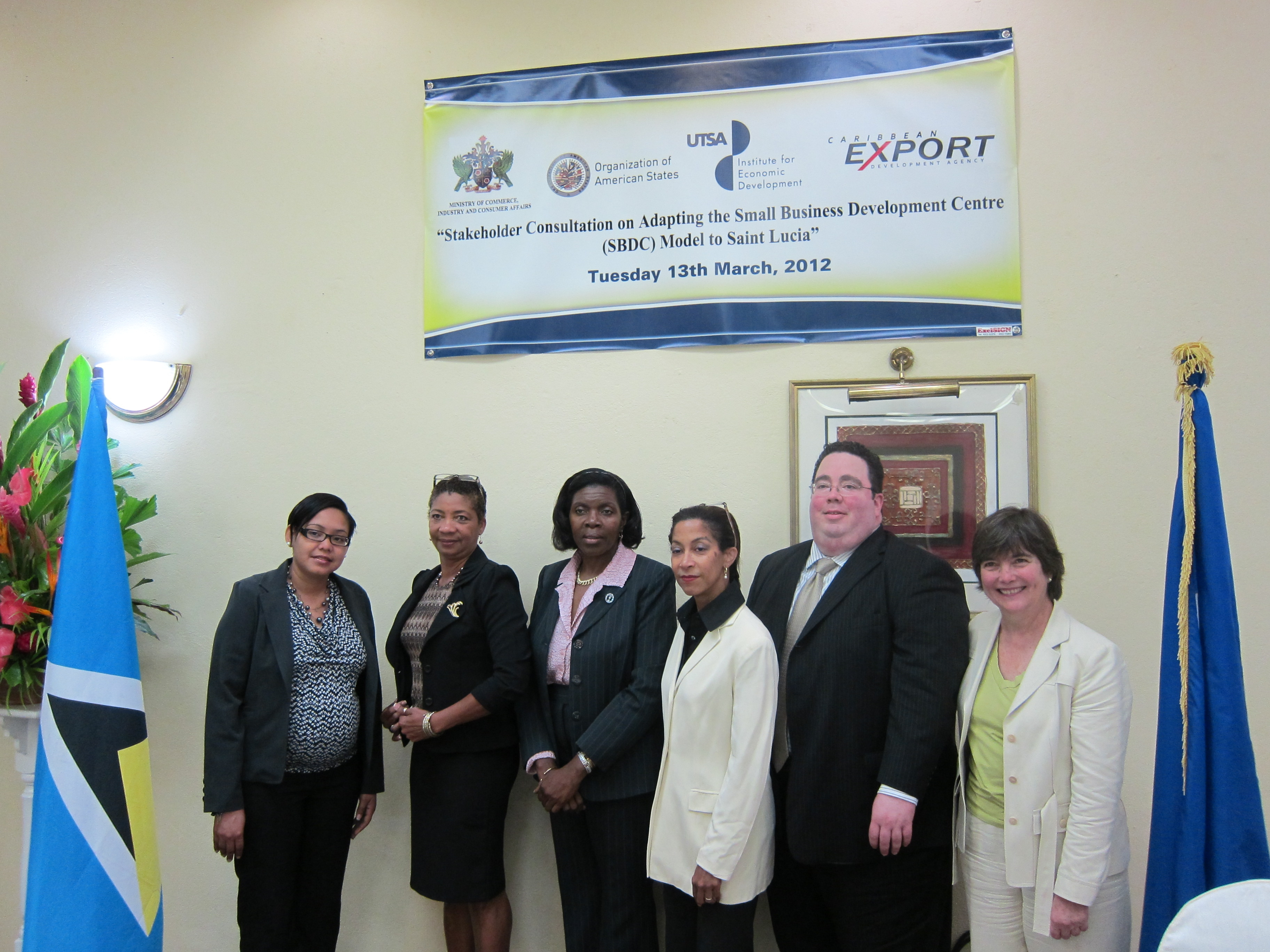 Stakeholder Consultation on Adapting the SBDC Model to Saint Lucia
