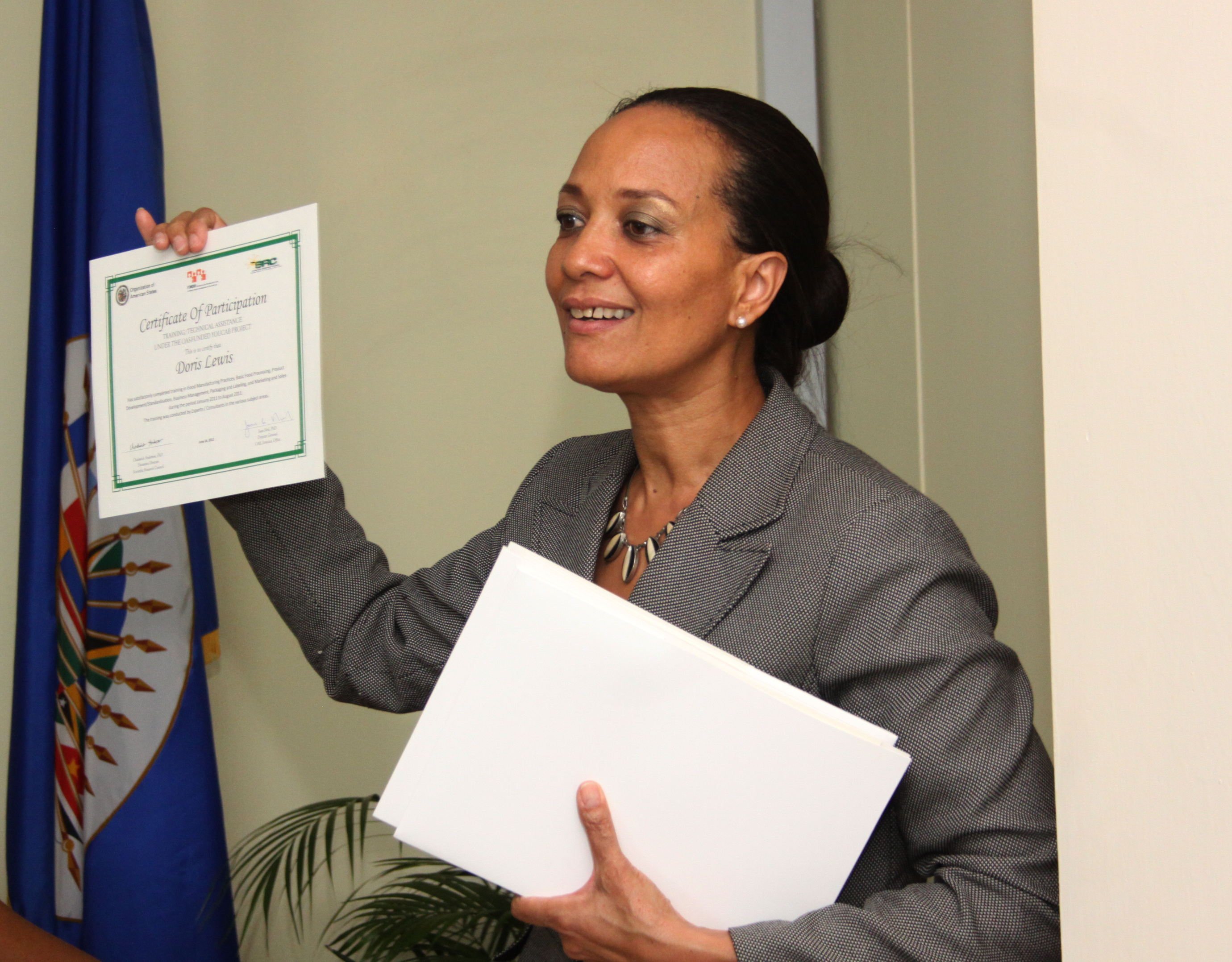 OAS-Funded Youth Capacity Building and Business Development (YOUCAB) Project Closing Ceremony