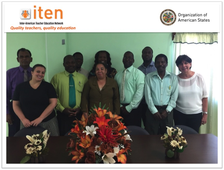 ITEN/OAS TECHNICAL COOPERATION MISSION IN ST KITTS AND NEVIS