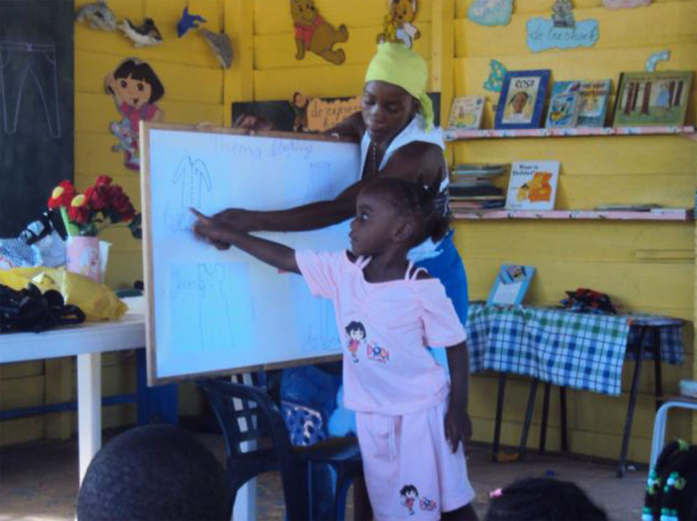 Early Childhood Education in the Interior of Suriname