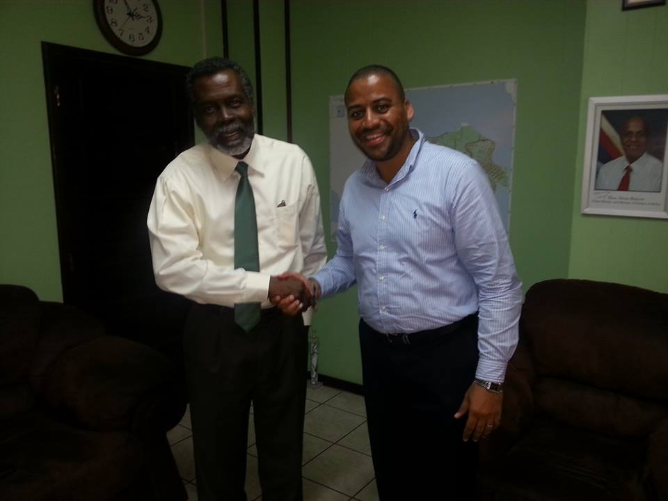 OAS Representative Meets with Mayor of Belize City
