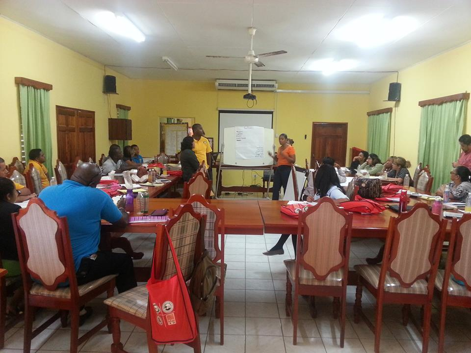 OAS PROCCER Activities Launched in Belize