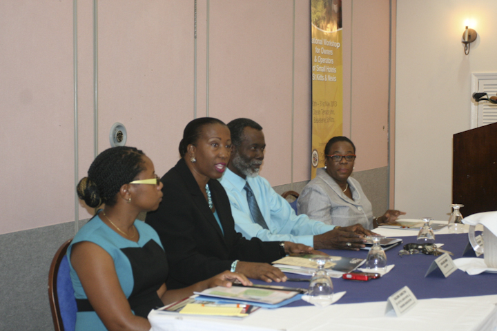 OAS Sponsors Workshop for Owners & Operators of Small Hotels in Federation