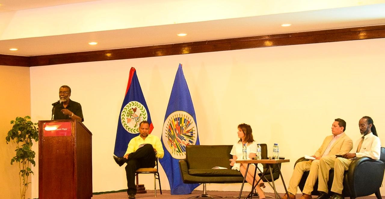 OAS Representative Spoke at Ceremony to Mark End of Phase 1 of the Open Government Project