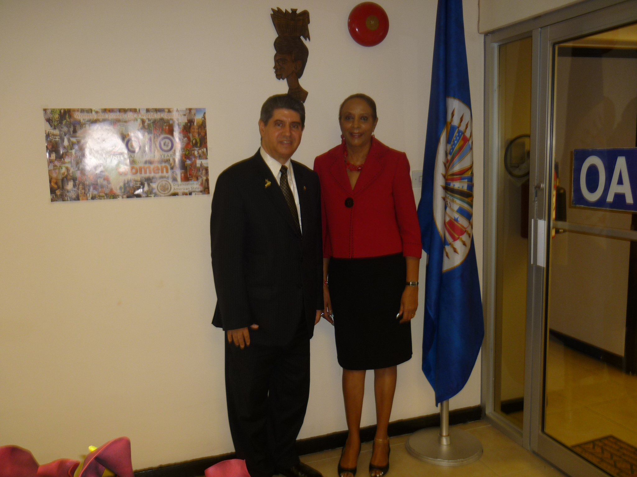 Courtesy Visit from Ambassador of Panama Mr. Jorge Constantino