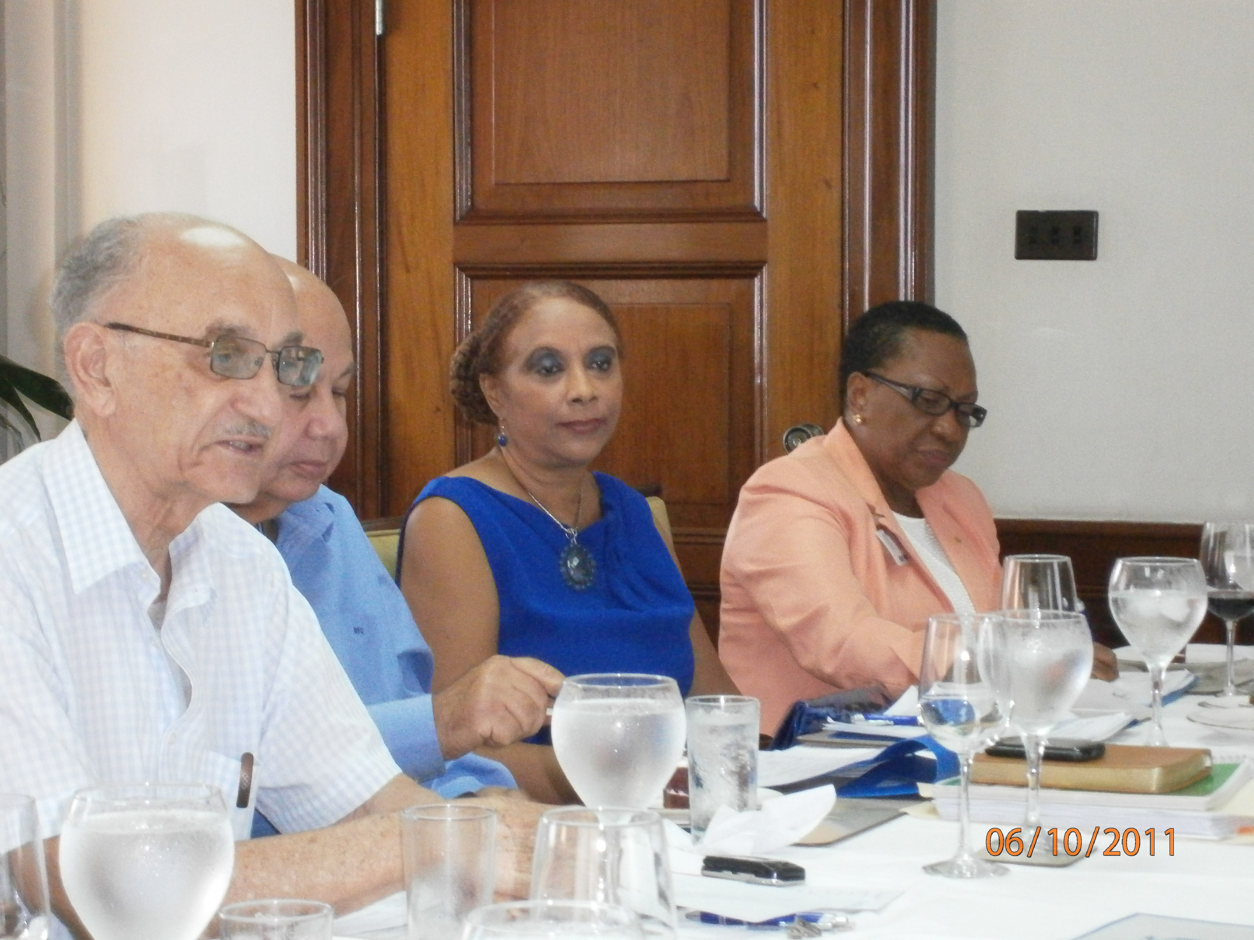 Representative Dr. Joan C. Neil participated in the Jamaica Gleaner's Honour Award 2011 Selection Committee