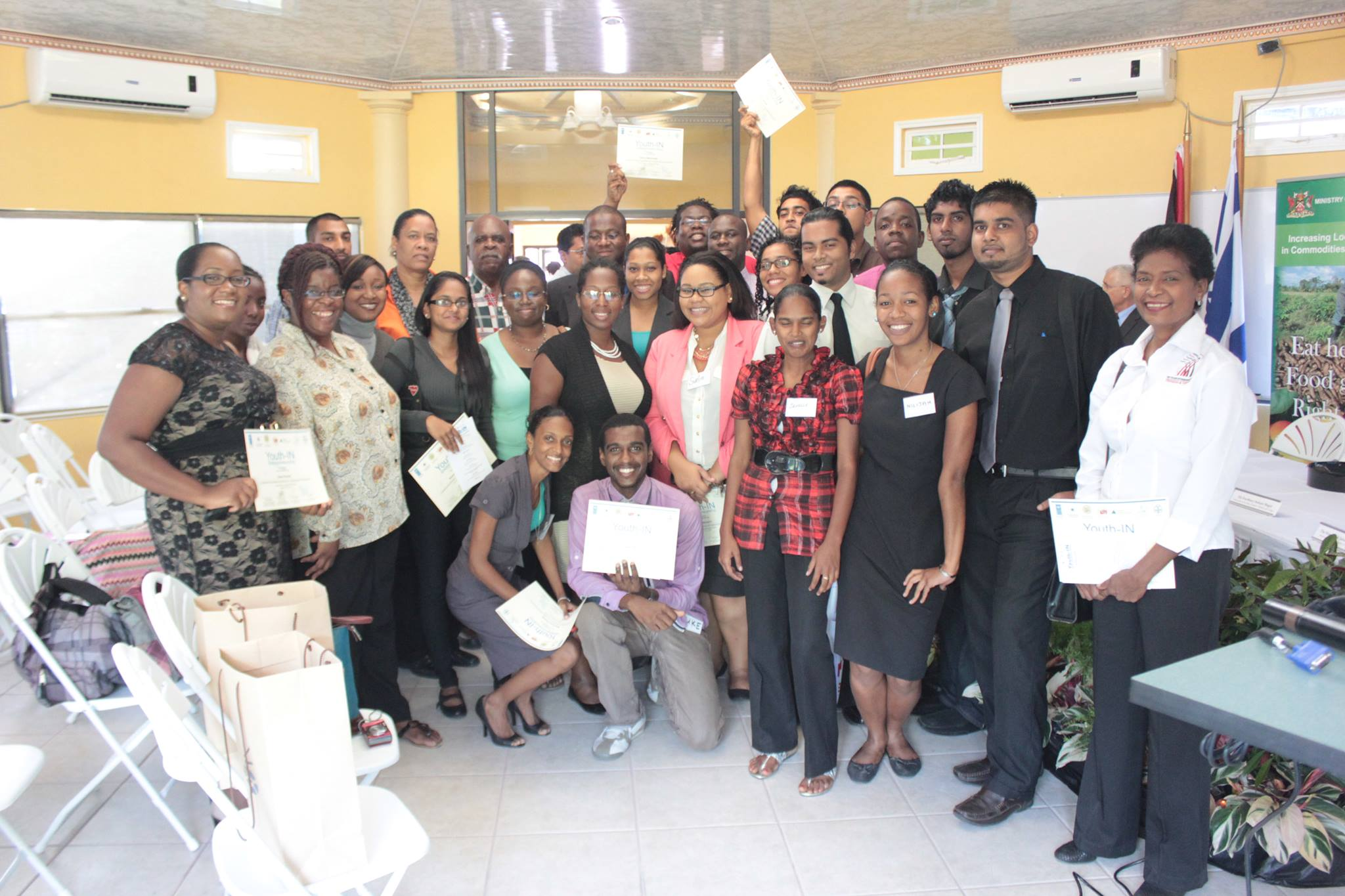 Youth-IN Entrepreneurship Agribusiness Lab, Port of Spain, Triniad