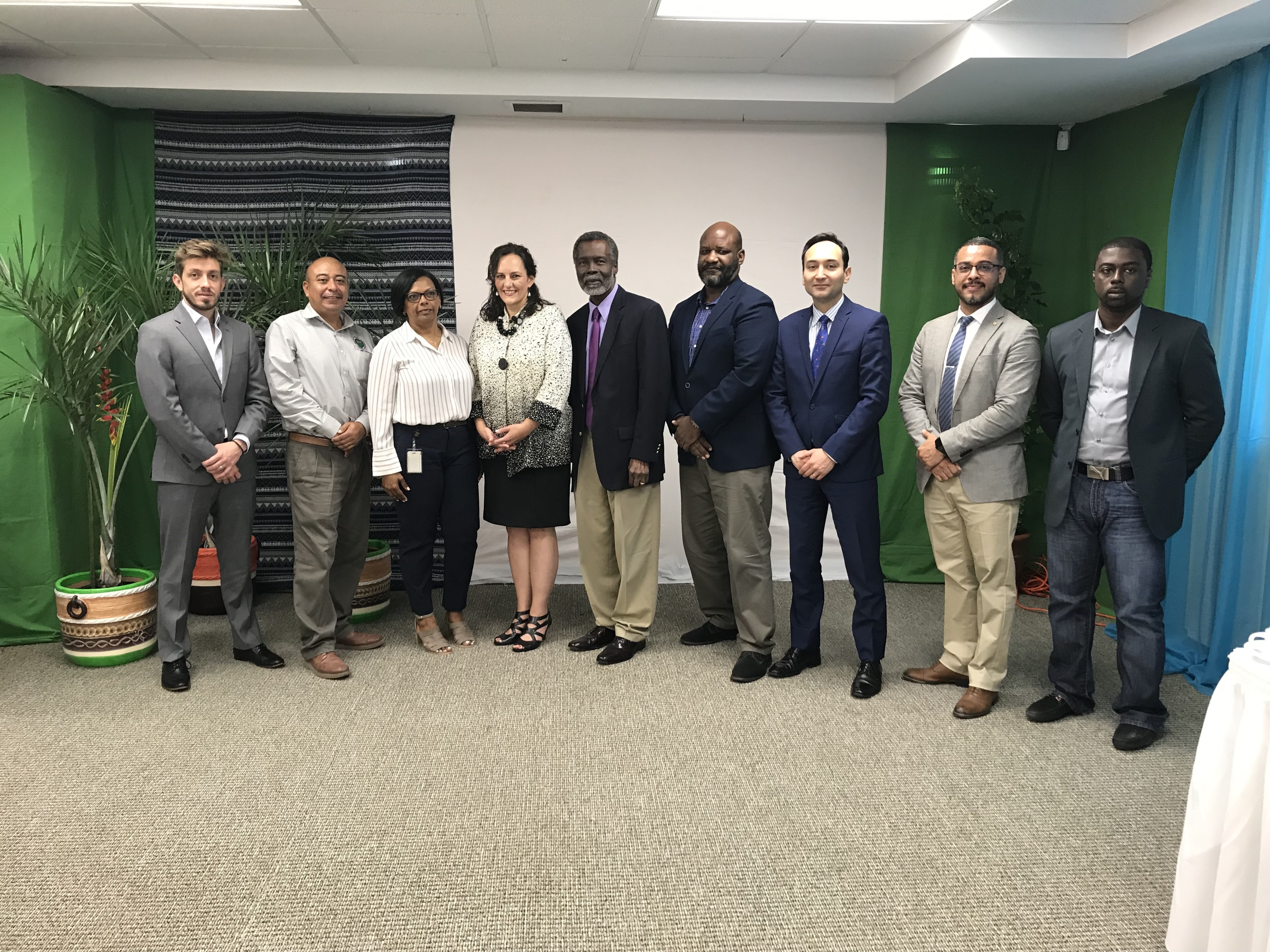 "OAS, Trust of the Americas and Belize Chamber of Commerce and Industry Host Roundtable: ""Harnessing the Value of Open Data by the Private Sector""."