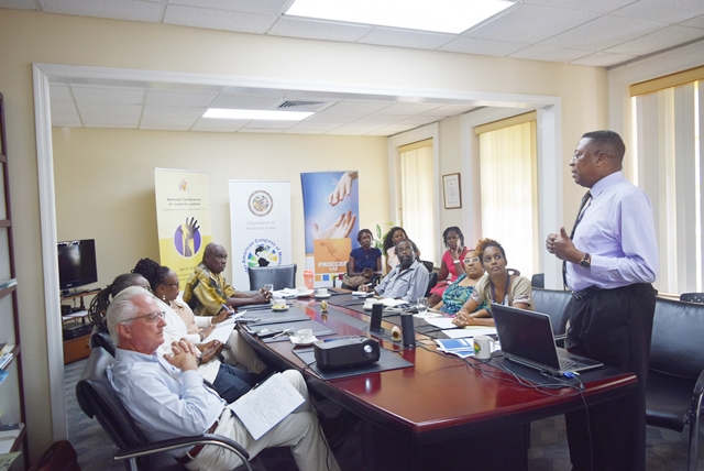 Remarks by, OAS Representative in Barbados Mr. Francis McBarnette, at the Launch of the VIII Summit of the Americas theme with Civil Society and Social Actors, at OAS Barbados office on July 20, 2017